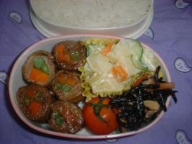 牛肉の野菜巻き焼き