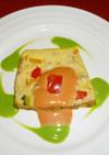 野菜と卵の簡単テリーヌ!