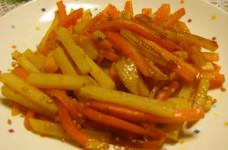 簡単❀じゃが芋と人参で御飯に合うあと一品