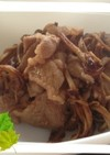 干しえのき☆乾燥えのきと豚肉の炒め物