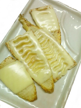 シンプル♪たけのこのチーズ焼き