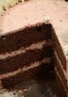 保存版チョコレートケーキ