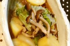 炊飯器で!白菜とジャガイモの煮物♪