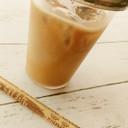 レギュラーコーヒーでアイスカフェラテ♪