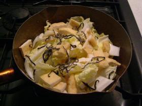 白菜の炊いたん