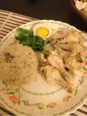 炊飯器で♡シンガポール風チキンライス♡