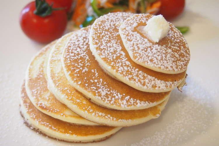 米粉 の パン ケーキ しとふわ「米粉パンケーキ」レシピ15選!グルテンフリー派におすすめ