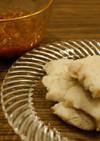鱧の湯引き 特製梅肉ソース