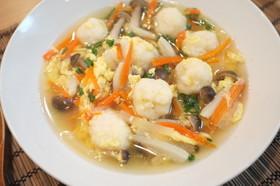 具だくさん!白身魚の団子スープ