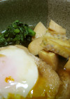 簡単!はさまない、油揚げ+卵煮 竹の子
