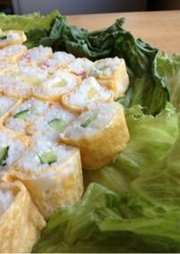 お弁当!簡単!玉子巻き寿司