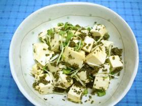 ぷちぷち豆腐サラダ