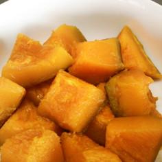 簡単♪時短♪かぼちゃの煮物