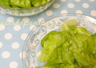 ビニール袋で混ぜるレタスのさっぱりサラダ