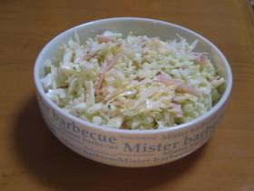 キャベツのマヨチーズサラダ