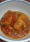 冷凍ロールキャベツで簡単トマトの煮物