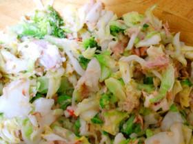 簡単*美味しい 和風ツナキャベツサラダ