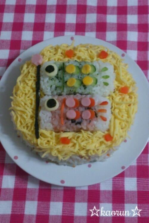 ★鯉のぼり寿司★