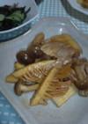 タケノコと豚バラの甘辛炒め