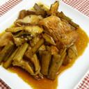 ご飯が進む 赤魚とごぼうの甘辛煮つけ