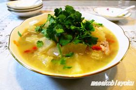 晩白柚の薬膳スープ