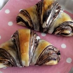 マーブルチョコレートパン