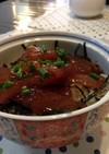 韓国風マグロの漬け丼