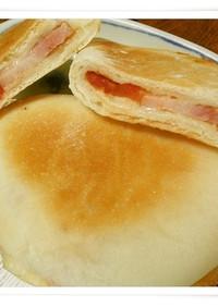 パニーニみたいな平焼きパン