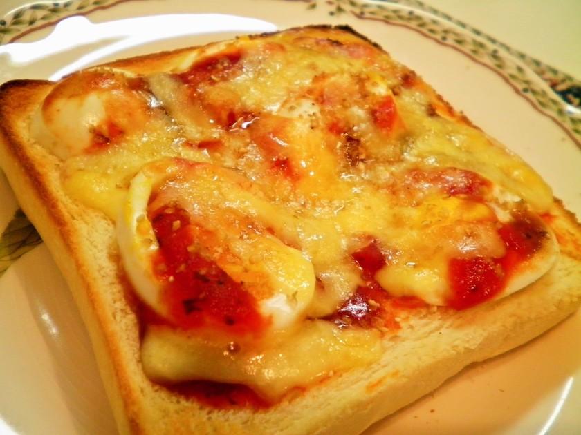 半熟たまごとチーズのとろーりトースト