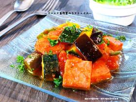 ■スパムと夏野菜の濃厚なラタトュイユ■