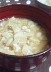 筍と豆腐汁