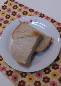 早焼HBでバナナ練乳パン