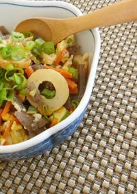 優しい味のいり豆腐