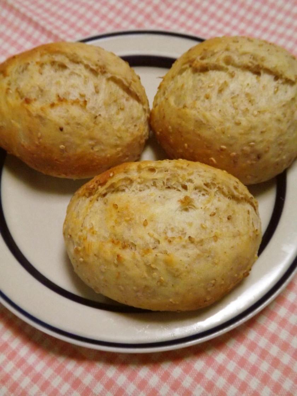 オートミールのテーブルパン