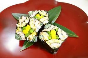 子供の日*飾り寿司(四海巻き)