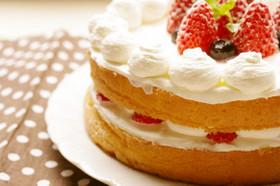 ふわふわしっとりケーキ
