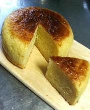 お豆腐ケーキの写真