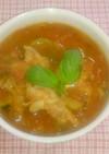 鶏手羽元と夏野菜のラタトゥユ風(圧力鍋)