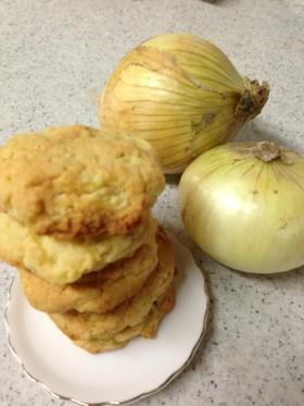 新玉ねぎ&EXVオリーブオイルのクッキー