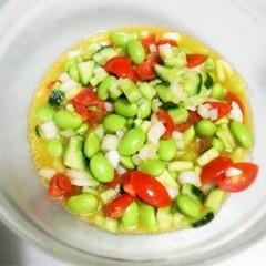 *あと一品*枝豆トマトのマリネ