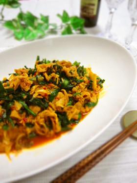 ✿豚肉とニラのキムチ炒め✿