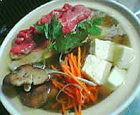 北海☆豪華ミソ鍋