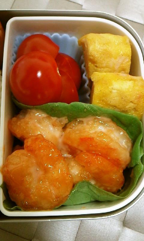 お弁当に☆簡単!美味しい!エビマヨ❤