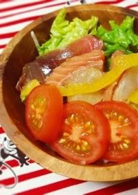 ズボラ☆かんたん♪♪海鮮中華サラダ