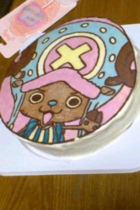 子供のキャラ誕生日ケーキ☆