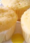 超簡単!レンジで♬HMで♬チーズ蒸しパン