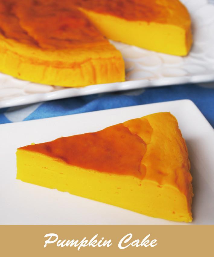 ミキサーで簡単★かぼちゃケーキ
