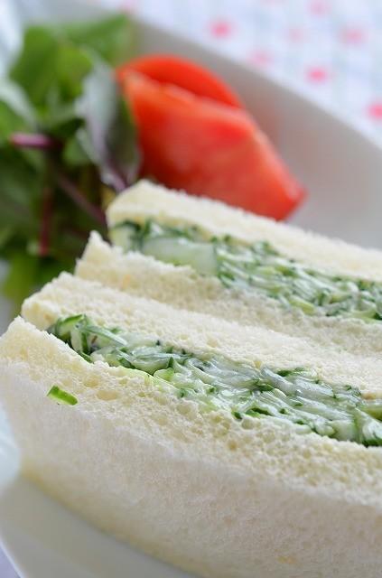 簡単!サンドイッチの基本・きゅうりサンド