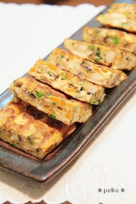 玉子焼き器で簡単☆栄養たっぷり擬製豆腐☆