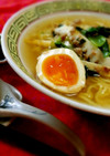 マルちゃん正麺塩味♪小松菜ラーメン